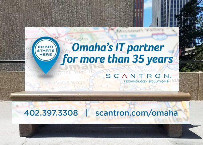 Bus Bench ads CHI Health